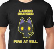 Laser Kitty Unisex T-Shirt