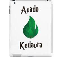 Avada Kedavra iPad Case/Skin