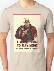 Uncle Heavy wants YOU T-Shirt