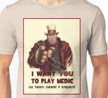 Uncle Heavy wants YOU Unisex T-Shirt