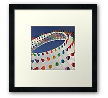 Spiked Rainbow Framed Print