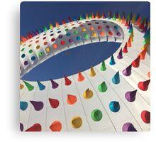 Spiked Rainbow Canvas Print