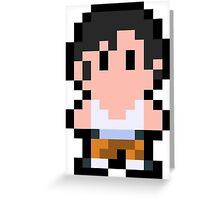 Pixel Chell Greeting Card