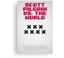 Scott Pilrim vs The World Canvas Print