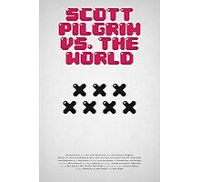 Scott Pilrim vs The World Photographic Print
