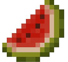 Minecraft Melon by FOXXYT