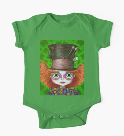 "Johnny Depp as Mad Hatter in Tim Burton's ""Alice in Wonderland"" One Piece - Short Sleeve"