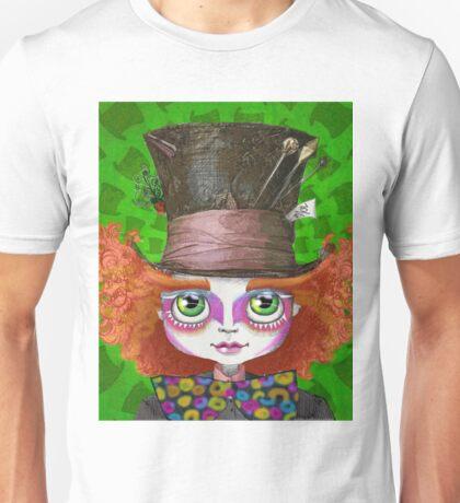 """Johnny Depp as Mad Hatter in Tim Burton's """"Alice in Wonderland"""" Unisex T-Shirt"""