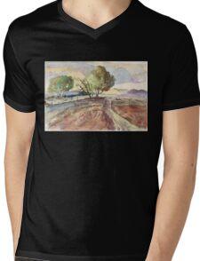 Winter in Tarlton Mens V-Neck T-Shirt