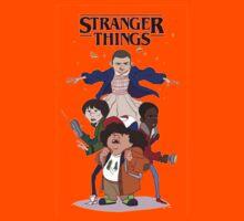 stranger things - netflix tv series Kids Tee