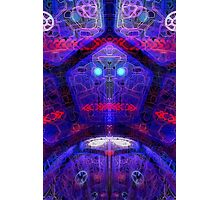 Futuristic alien interface Photographic Print