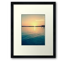 Beach Vibes Framed Print