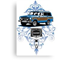 Grand Wagoneer Vintage T-shirt  Canvas Print