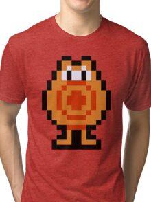 Pixel Q*Bert Tri-blend T-Shirt