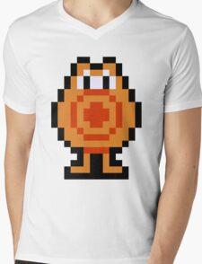 Pixel Q*Bert Mens V-Neck T-Shirt