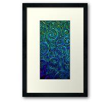 Color Swirl Framed Print