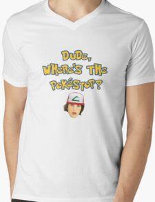 Pokemon Go Inspired Movie Reference Mens V-Neck T-Shirt