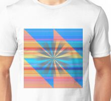 Light Burst in Complementary Colors Unisex T-Shirt