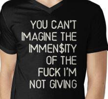 No immense fuck was given - Kesha Rose Sebert Mens V-Neck T-Shirt