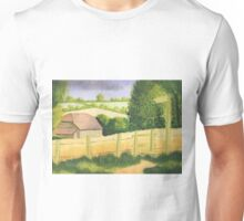 The Barn in Cornfield Unisex T-Shirt
