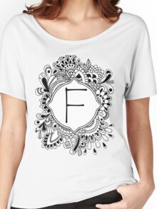 F Women's Relaxed Fit T-Shirt