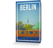 BERLIN FRAME Greeting Card