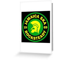 JAMAICA SKA 1969 Greeting Card