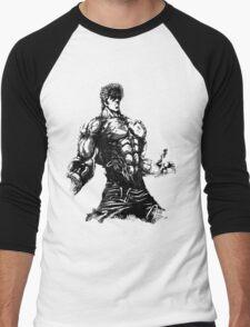Angry Kenshiro Men's Baseball ¾ T-Shirt