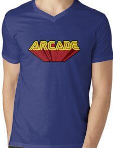 Arcade Mens V-Neck T-Shirt