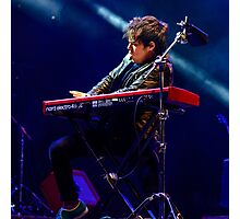 Jamie Cullum in the groove  Photographic Print