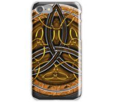 Celtic Cross Full Metal iPhone Case/Skin