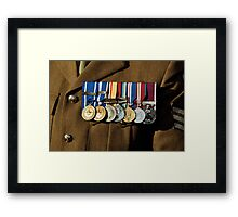 Rememberance - 2012  Framed Print