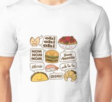 Talking Food Unisex T-Shirt