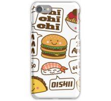 Talking Food iPhone Case/Skin