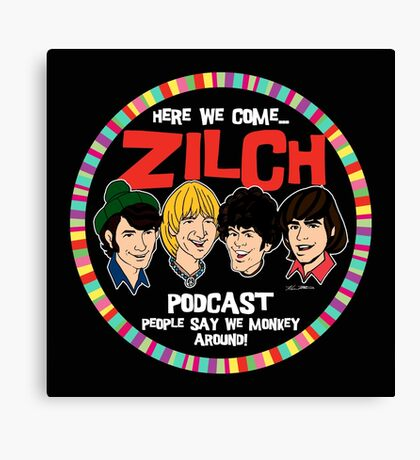 Zilch Podcast! Canvas Print