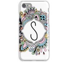 S iPhone Case/Skin
