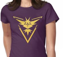 Pokemon Go Awesome Team Instinct  Womens Fitted T-Shirt