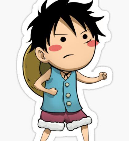 EDR 791 Cute Luffy Sticker
