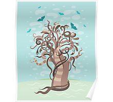Fabulous tree Poster