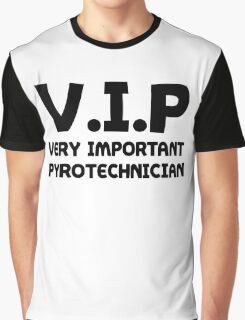 Funny Fireworks Pyrotechnics Shirt Graphic T-Shirt
