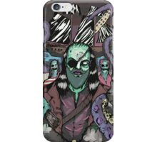 The Pirate Octopus Colour iPhone Case/Skin