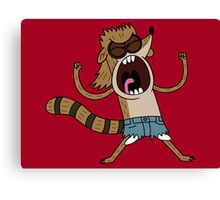 Rigby, The Death Kwon Do Freak Canvas Print