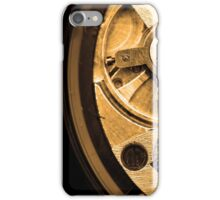 Gold Time iPhone Case/Skin