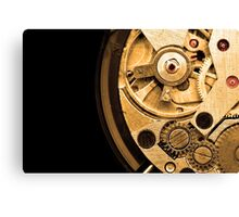 Gold Time Canvas Print