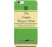 William Wordsworth Retro Book Cover iPhone Case/Skin