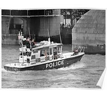 Sir Robert Peel - Police Launch Poster