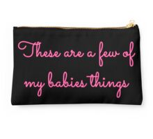 These are a few babies things girls Studio Pouch