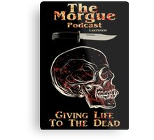 The Morgue Podcast Metal Print