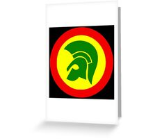 TROJAN RECORDS TWO COLOR Greeting Card
