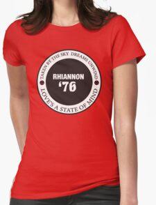Rhiannon Fleetwood Mac Single Womens Fitted T-Shirt